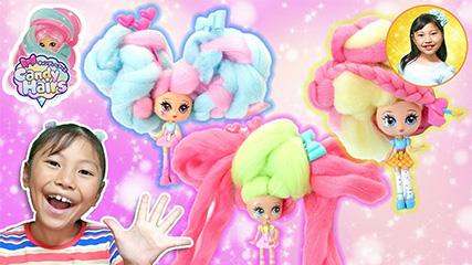 オリジナルヘアアレンジが簡単可愛くできちゃう♪キャンディヘアーズ Candy Hairs みこちゃん初めてヘアーアップに挑戦!